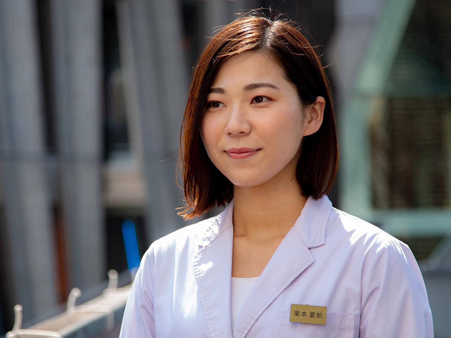 先輩鍼灸師インタビュー企画 グラン治療院 栗本夏帆さん